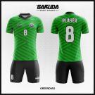 Desain Kaos Bola dan Futsal Greendiag Si Hijau