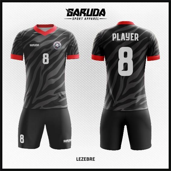 Desain Seragam Bola dan Futsal Lezebre Ornamen Keren