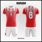 Desain Kaos Futsal Code Redwhites Si Putih Merah Unik
