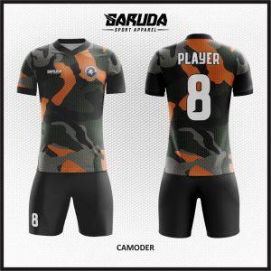 Desain Baju Futsal Camoder Tampil Garang di Lapangan