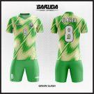 Desain Jersey Futsal Green-Slash Si Hijau Tampil Cepat di Lapangan