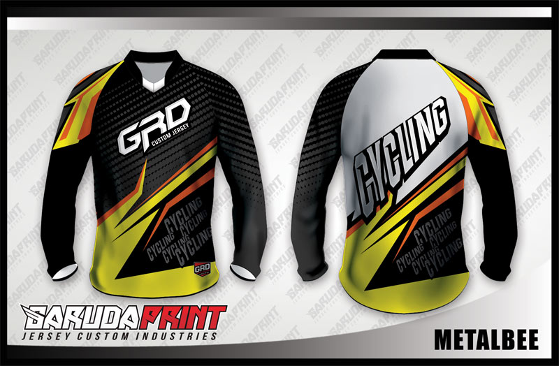 Koleksi Desain Jersey Sepeda Downhill / MTB 05