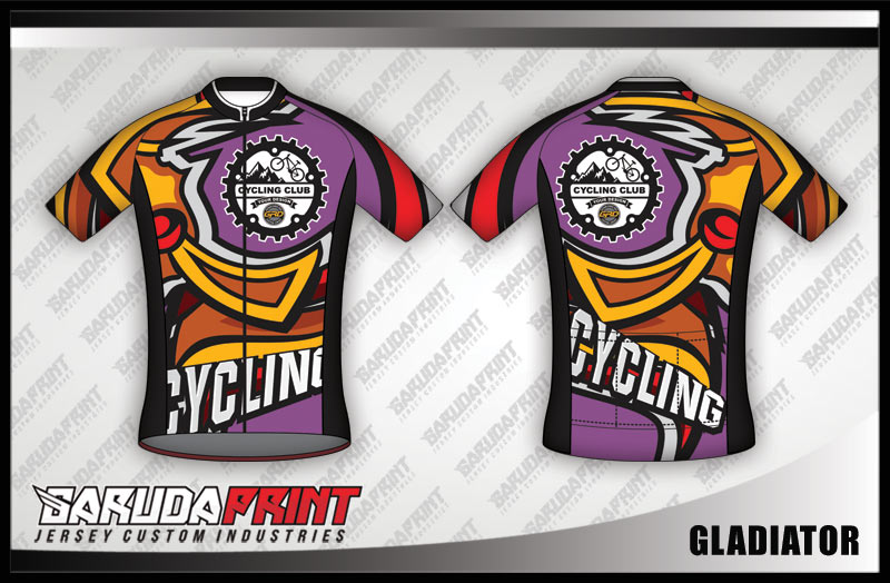 Koleksi Desain Kaos Sepeda Gowes / Road Bike 06