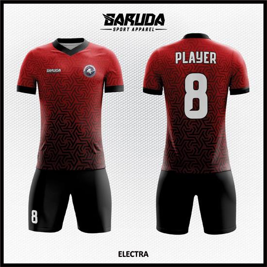 14 desain baju futsal full print code ELECTRA