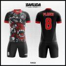 Desain Baju Futsal Full Print Code Feroz Mampu Menyiutkan Nyali Lawan