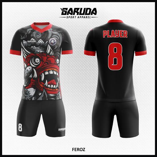 desain baju futsal full print code FEROZ
