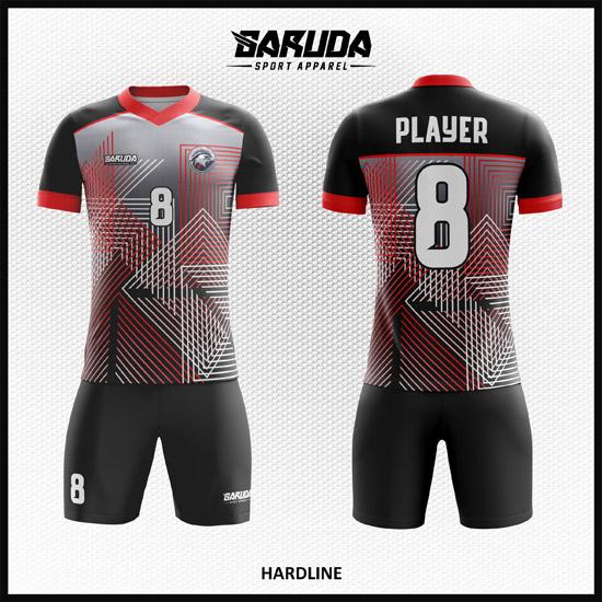 desain jersey futsal printing code HARDLINE keren