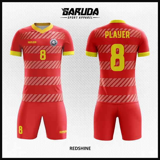 Desain Jersey Sepakbola Printing Code Redshine Tunjukkan Aura Bintangmu