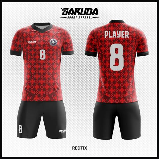Pola Batik Pada Desain Jersey Sepakbola Printing Code Redtix