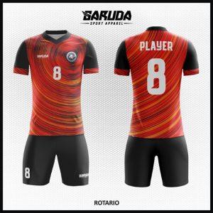 Desain Kostum Futsal Printing Code Rotario Yang Unik Bikin Lawan Terpukau