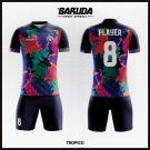Desain Seragam Sepakbola Printing Code Tropico Tampilan Tim Kamu Makin Indah