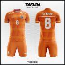 Desain Seragam Futsal Printing Orange Code Vecchiold Yang Sangat Manis
