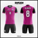 Desain Kaos Sepak Bola Full Print Code Peralis Ungu Hitam