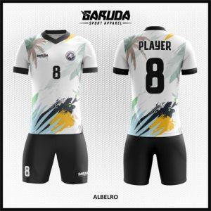 Desain Baju Futsal Full Print Code Albero Nuansa Pantai