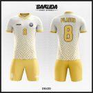 Desain Jersey Bola Futsal Code Dgold yang Elegan Dan Simple