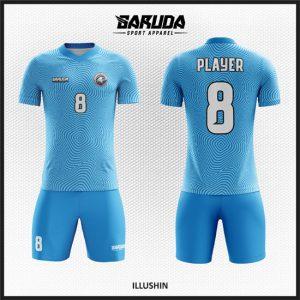 Desain Kaos Sepakbola Full Print Code Illushin Biru Yang Unik