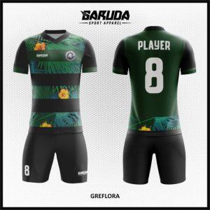 Desain Kostum Futsal Printing Code Grefolra Gambar Alam Menyejukkan Mata