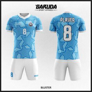 Baju Bola Biru Menawan Dengan Desain Baju Sepakbola Code Buster