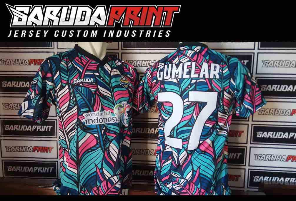 Produksi bikin kostum futsal printing dengan hasil keren printing
