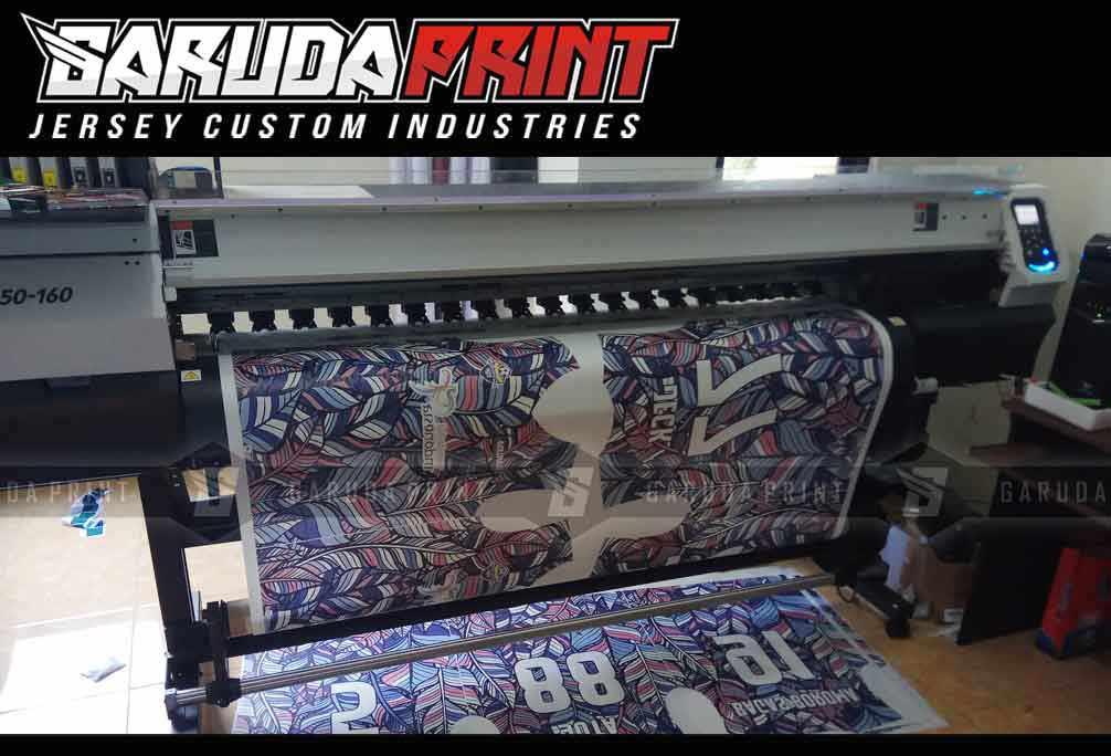 Produksi bikin kostum futsal printing dengan hasil keren