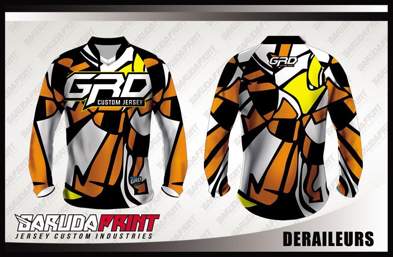 Koleksi Desain Jersey Sepeda Downhill / MTB 06