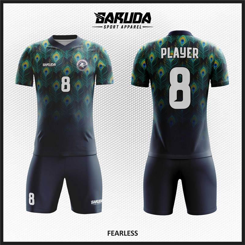 Desain Baju Bola Futsal Code Fearless, Eyecatching,Kekinian Dan Keren