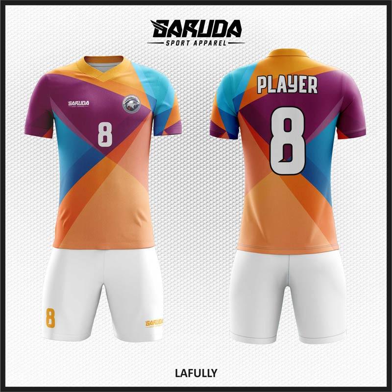 Desain Kostum Bola Futsal Code Lafully Terkeren,