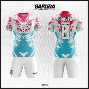 Desain Kostum Sepakbola Code Miro Style Keren Milenial