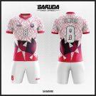 Desain Kaos Futsal Code Sambre, Keren Berani Bermonokrom