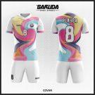 Desain Kaos Bola Futsal Code COVAN, Kaos Bola Unik yang Memikat