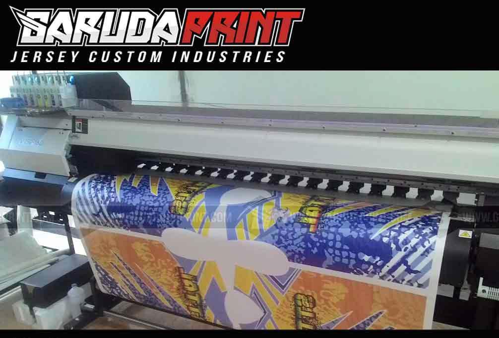 Jersey Sepeda MTB Desain Custom printing