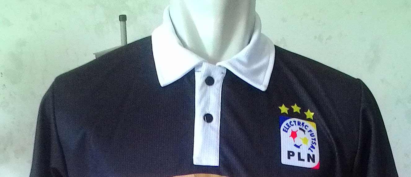Desain Baju Futsal Berkerah