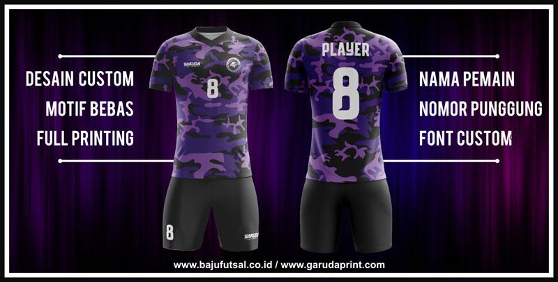 pembuatan baju jersey futsal army keren