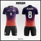 Desain Jersey Bola Futsal Code Galactic Kombinasi Ungu Kalbu