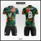 Desain Jersey Futsal Full Print Code Bileav Motif Bunga Yang Cantik
