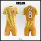 Desain Baju Bola Futsal Code Rensd Gradasi Warna Kuning Memukau
