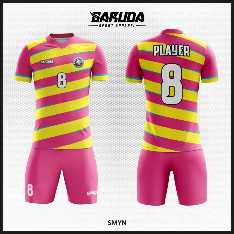 Desain Baju Bola Futsal Printing Code Smyn Yang Cool