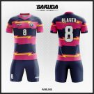 Desain Jersey Bola Full Print Paruns Yang Menawan