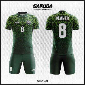 Desain Jersey Futsal Printing Code Grenlen Motif Batik