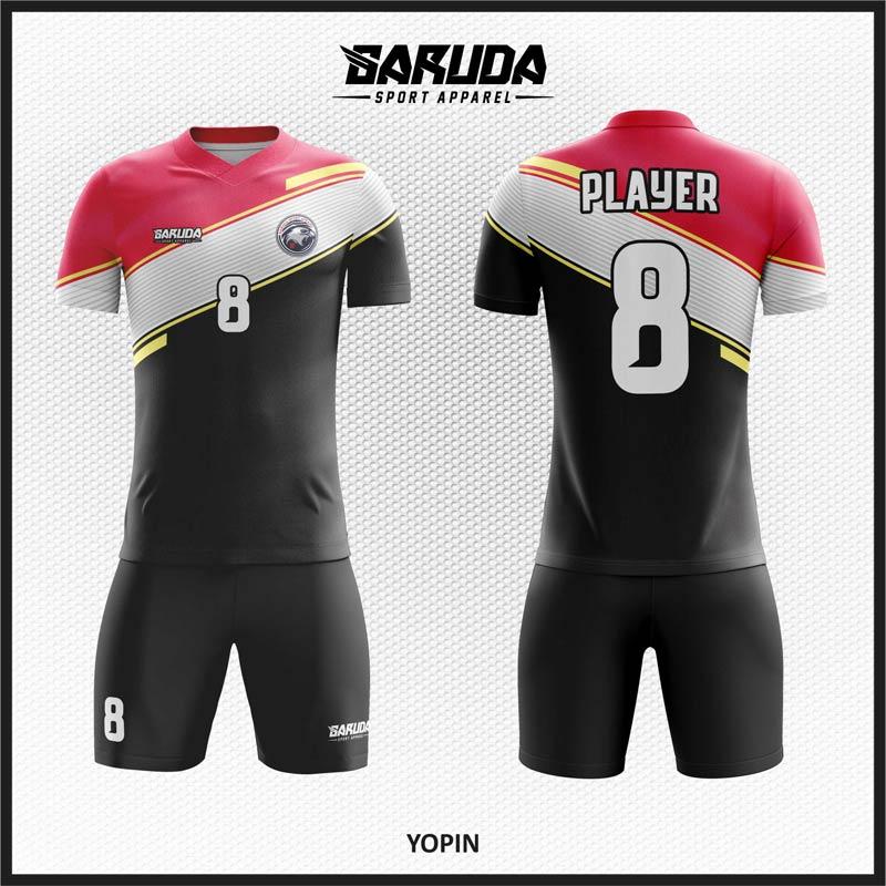 Desain Baju Futsal Printing Code Yopin Yang Elegan