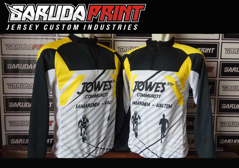 Bikin Jersey Sepeda Downhill Warna Hitam Motif Zig Zag Lebih Sporty