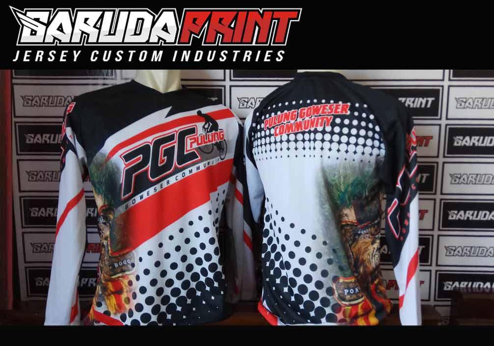 Lihat juga : Desain Jersey Sepeda Gowes Warna Hitam Contoh Hasil Produksi Jersey Sepeda Printing di Garuda Print