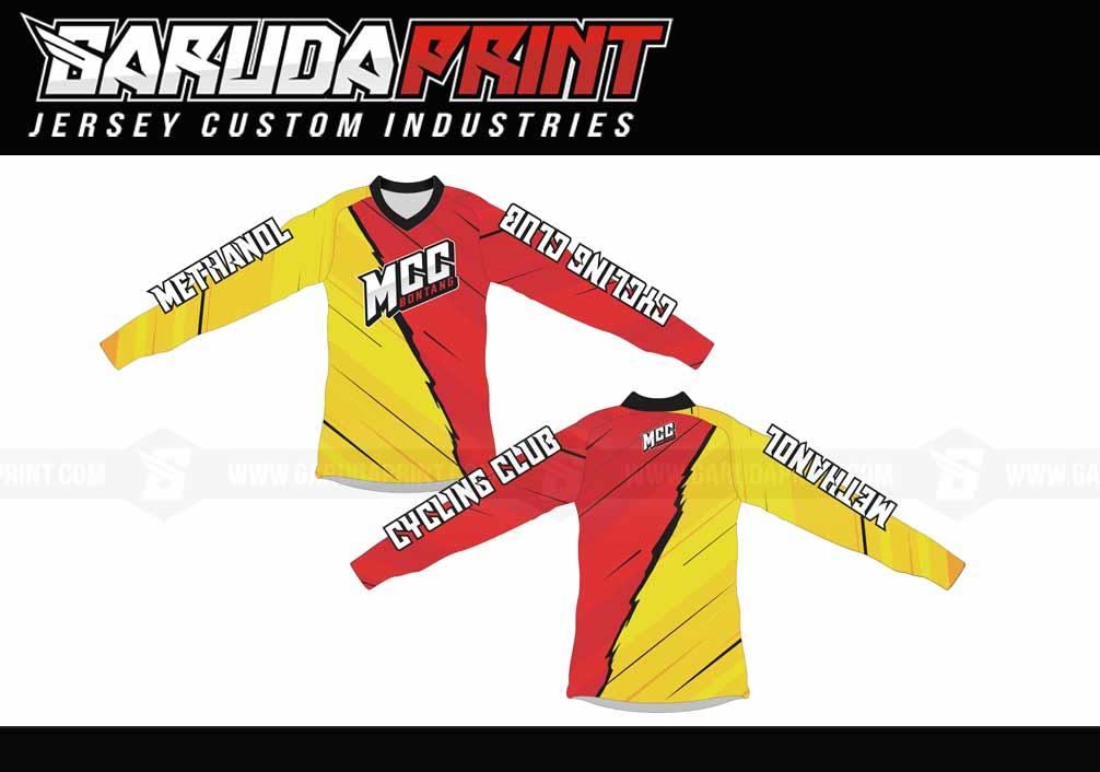 Contoh Hasil Produksi Jersey Sepeda Printing di Garuda Print