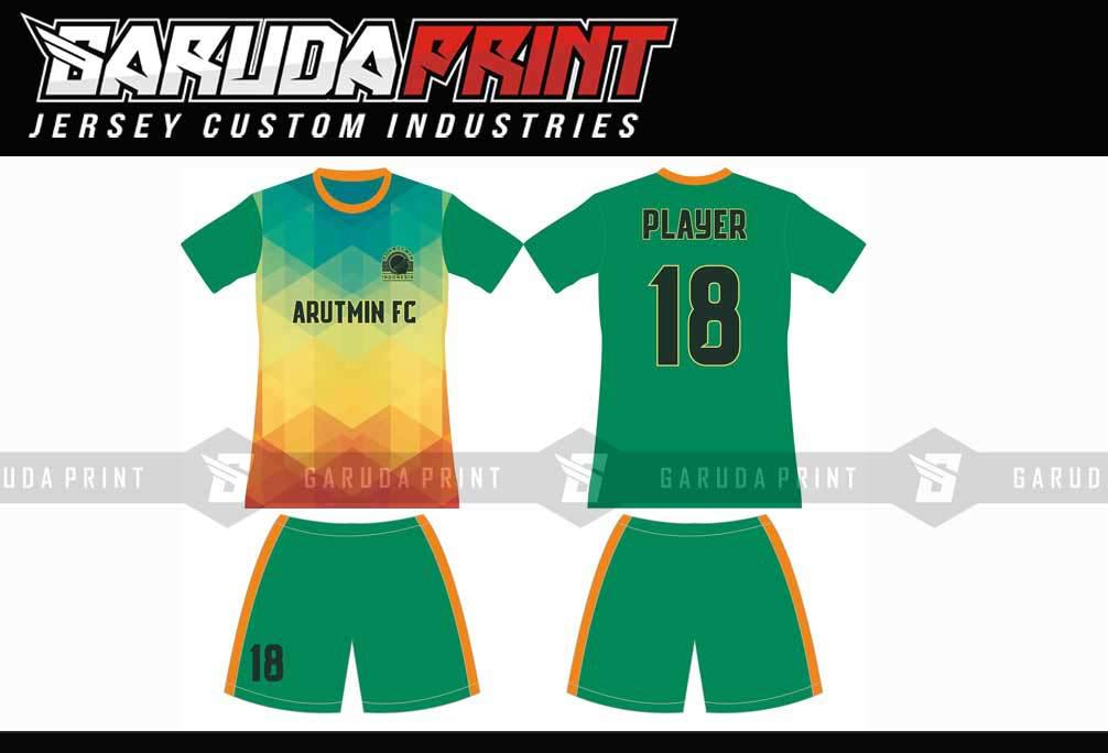 Pembuatan Kaos Futsal GOJEK