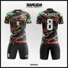 Desain Kaos Sepakbola Watbak Warna Hitam Saatnya Tampil Beda