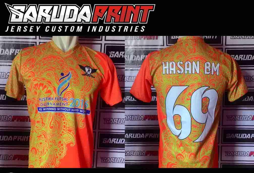 Pembuatan Baju Futsal POS INDONESIA