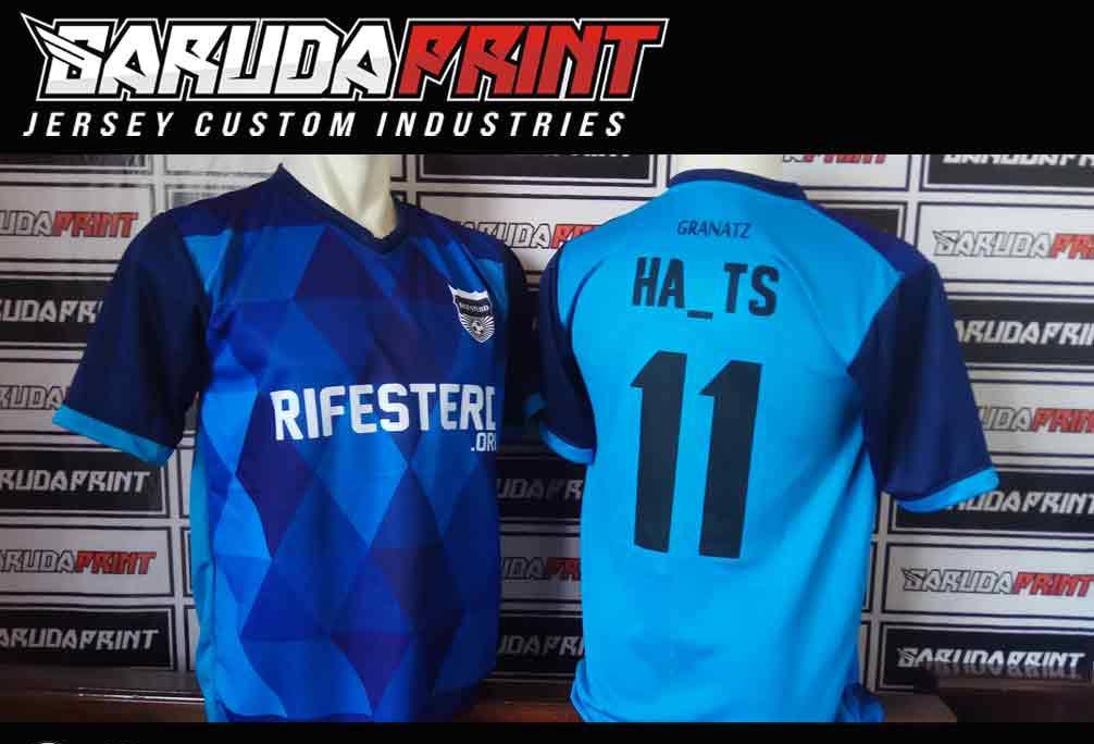 Jasa Pembuatan Jersey Futsal PERUSAHAAN GAS NEGARA / PGN