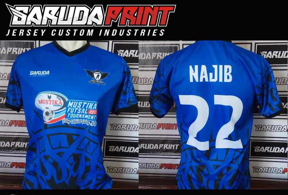 Jasa Bikin Baju Futsal BANK BRI INDONESIA
