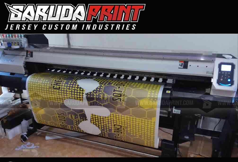 Pembuatan Jersey Printing Universitas Muara Kudus / UMK