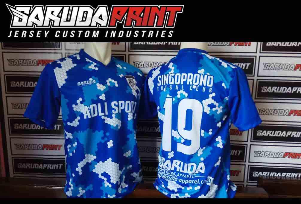 Pembuatan Jersey Futsal PT PINDAD